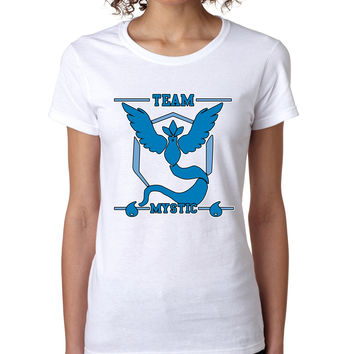 Women's T Shirt Team Mystic Blue Team Shirt