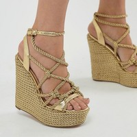 Kurt Geiger Notty Wedge at asos.com
