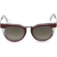 Fendi pointed sunglasses