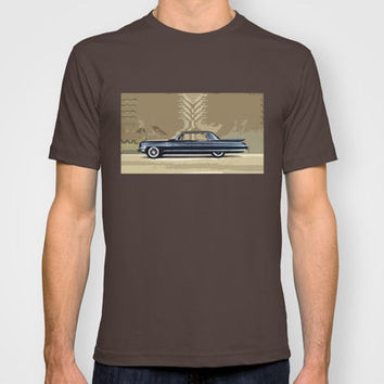 1961 Cadillac Fleetwood Sixty-Special ~ An Artist's Impression  T-shirt by Bruce Stanfield | Society6