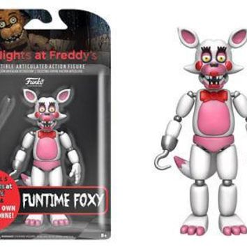Five Nights at Freddy's Nightmare Funtime Foxy 5-Inch Action Figure