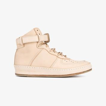 'MIP-01' LEATHER HI-TOP SNEAKERS