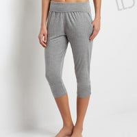 LLD Ruched Studio Crop Leggings
