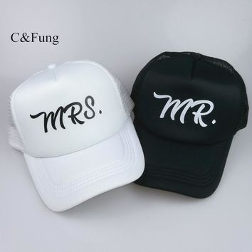 96cda149 Trendy Winter Jacket C&Fung design Mr and Mrs Trucker hats Mr. m