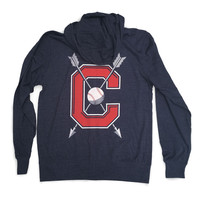 Strike C - Zip-up T-shirt Hoodie