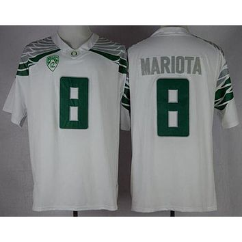 Nike Oregon Duck Marcus Mariota 8 College Limited Jerseys Size Smlxl2xl3xl