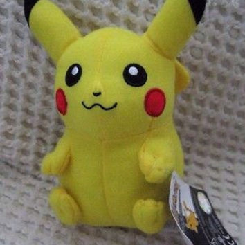 "POKEMON PIKACHU 14"" Stuffed Animal Plush Toy-New! Pokemon 14"" Plush Animal"