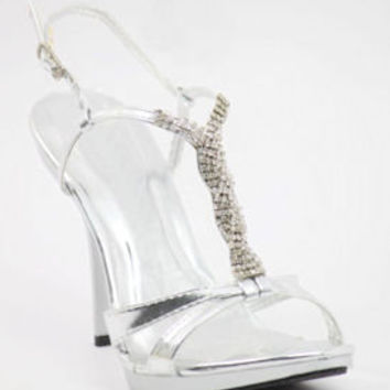 Evening Shoes, Silver Dressy Shoes, Silver Wedding Shoes, eveningshoe-800 - 8