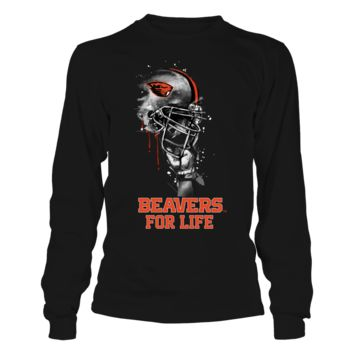 Oregon State Beavers - Rising Helmet - T-Shirt - Officially Licensed Fashion Sports Apparel