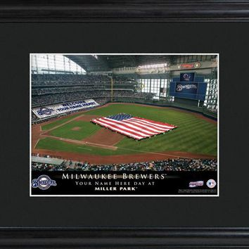 Personalized MLB Stadium Print - Brewers