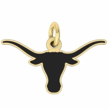 Buy Texas Longhorns 14K Yellow Gold College Charms and Jewelry, Get Fast Free Shipping
