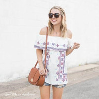 Driftwood Summer Top