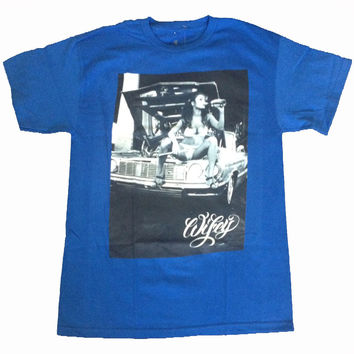 T.I.T.S. Brand Two In The Shirt Estevan Wifey T-Shirt Blue