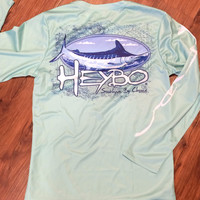 Heybo Marlin Long Sleeve Performance Tee
