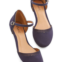 ModCloth Darling Cute Across Campus Flat