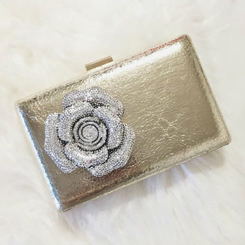 Ivy Crystal Clutch