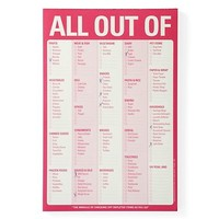 All Out Of Pad   Office   Storage & Organization   Decor   Z Gallerie