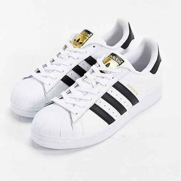 $90 Adidas Men Superstar Adicolor red scarlet S80326
