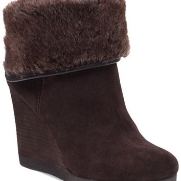 Lucky Brand Women's Torynn Wedge Booties