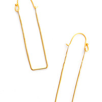 Delicate Geometry Earrings