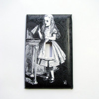 Light Switch Cover - Light Switch Plate Alice In Wonderland