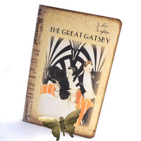 Fitzgerald Moleskine Journal, The Great Gatsby Notebook, Art Deco Diary, 1920's Fashion Inspired, Gatsby Gifts