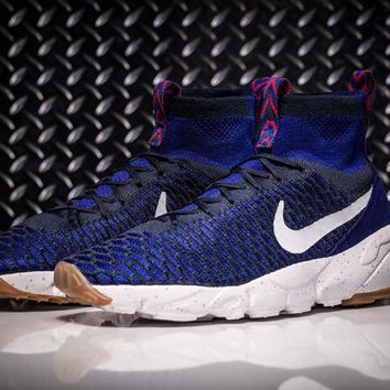 Nike Air Footscape Magista Flyknit Mens Lifestyle New Polar Blue Sneakers