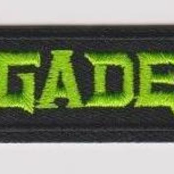 Megadeth Iron-On Patch Green Letters Logo