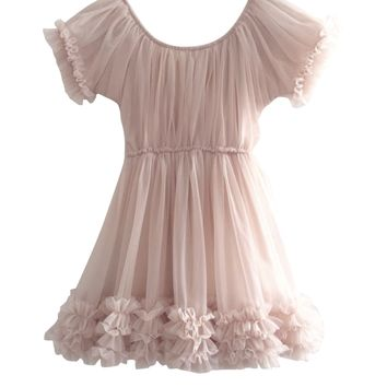 DOLLY by Le Petit Tom ® FRILLY DRESS ballet pink