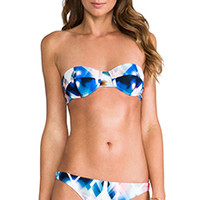 MILLY Maxime Underwire Top in Blue