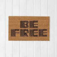 Be Free Door Mat- Tan 2X3