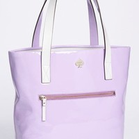 kate spade new york 'flicker' patent leather bon shopper | Nordstrom