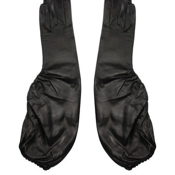 Maison Fabre Leather Gloria gloves