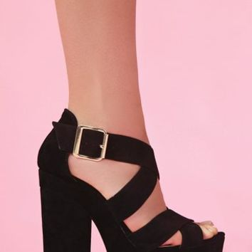 Shadow Platform  in  Clothes at Nasty Gal
