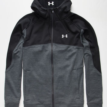 Under Armour Gamut Mens Zip Hoodie Heather  In Sizes