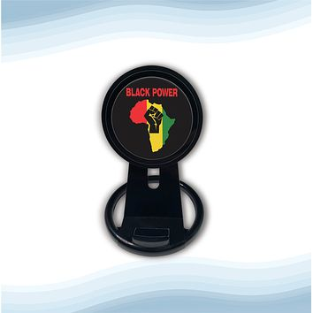 Black power Universal Wireless Charger with Bult in Stand
