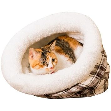 New Cat Bed Fanaticism Style Soft Material Lattice