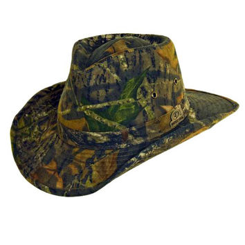 Mossy Oak Break Up Mens Camo Outback Hat