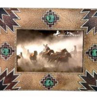 Aztec Resin Photo Frame
