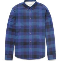 Acne - Isherwood Check Slim-Fit Cotton Shirt | MR PORTER