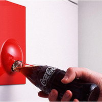 Suck UK Bottle Opener / Fridge Magnet- White