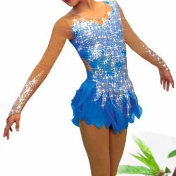 Sharene Skatewear designer dresses for figure skating, ice skating, baton twirling, dance costumer, and rhythmic gymnastics.