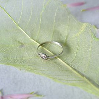Handmade silver ring stylish gift fashionable women's accessories cool present