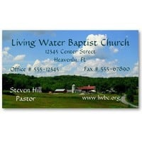 Place of Worship Business Card from Zazzle.com