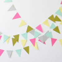 Triangle Bunting - Paper Garland