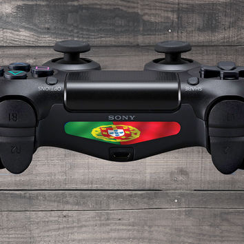Portugal Flag Playstation 4 (PS4) Dual Shock Controller Light Bar Decal