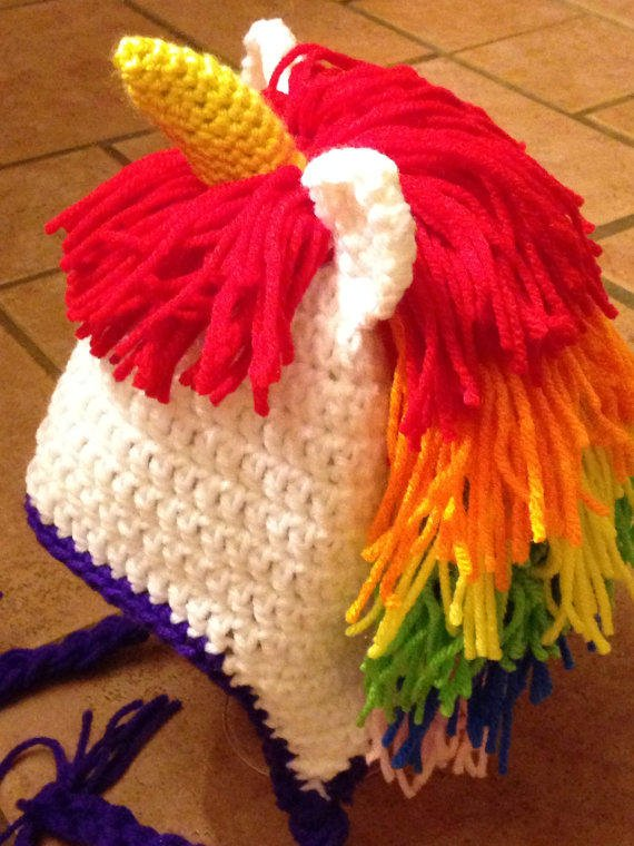 Unicorn Hat/Crochet Unicorn Hat/Crochet from ...