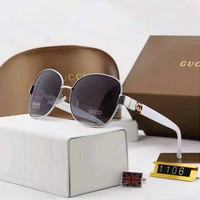 Perfect Gucci Women Fashion Sunglasses Popular Summer Style Sun Shades Eyeglasses Glasses Sunglasses (With Thanksgiving&Christmas Gift Box)