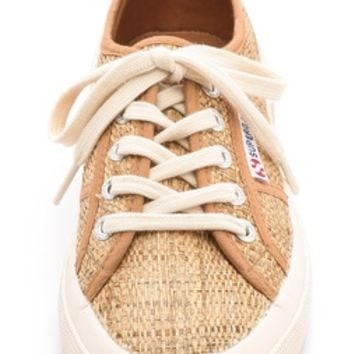 Superga Cotu Raffia Sneakers | SHOPBOP