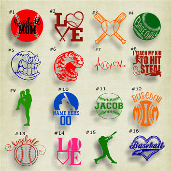 Shop Mom Stickers On Wanelo - Custom car decals baseball